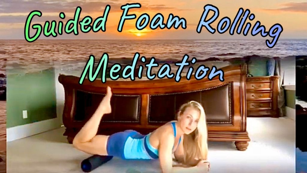 guided foam rolling meditation