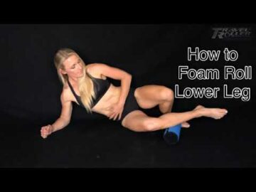 How to Foam Roll LOWER LEG | Tibialus Anterior muscle